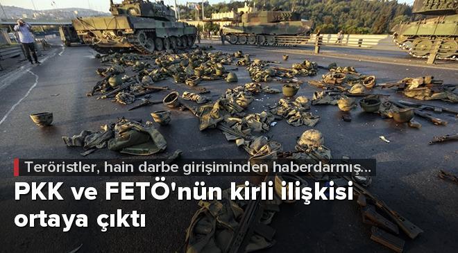 PKK ve FETÖnün kirli ilişkisi ortaya çıktı