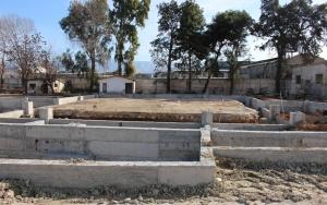 Atinada cami inşası nisan ayında tamamlanacak
