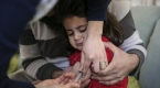 Suriyeli sığınmacı çocuklar aşılanıyor