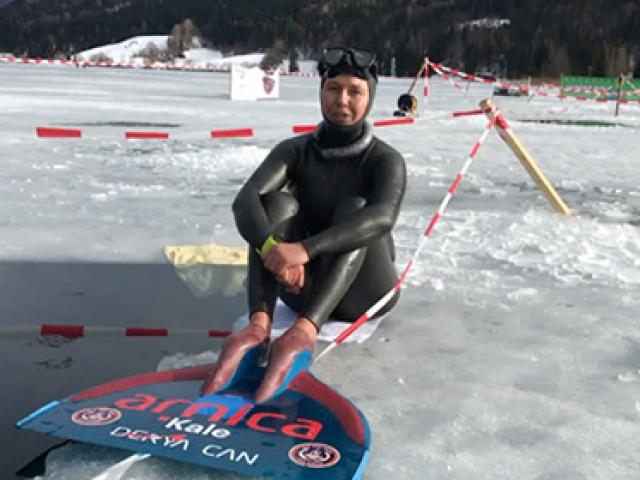 Rekortmen sporcudan yeni rekor denemesi