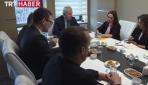 Avrupa Güvenlik İşbirliği Teşkilatından TRTye ziyaret