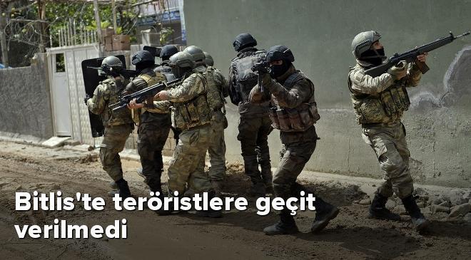 Bitliste teröristlere geçit verilmedi