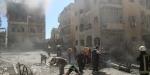 Esed güçleri sivillere füzelerle saldırdı: 20 ölü, 100 yaralı