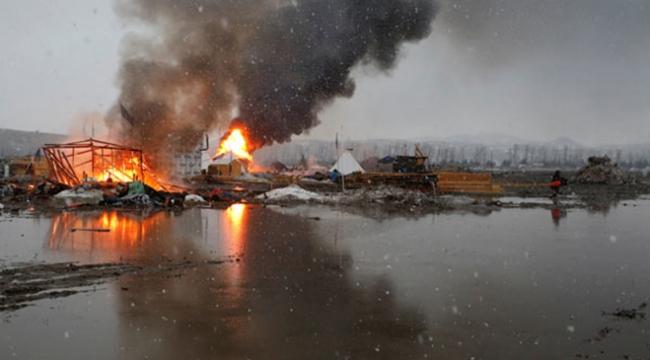 Kuzey Dakotada boru hattı eylemine müdahale