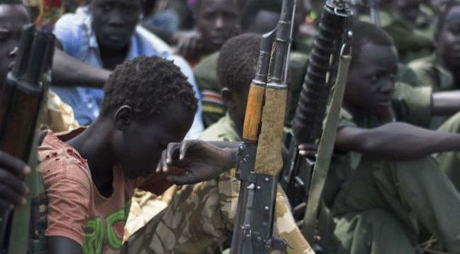Dünyadaki çocuk askerlerin yüzde 40ı Afrikada