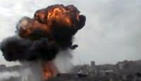 Şam'da Çok Şiddetli Patlama Meydana Geldi