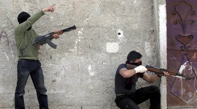 Türkiye Sınırında Şiddetli Çatışmalar