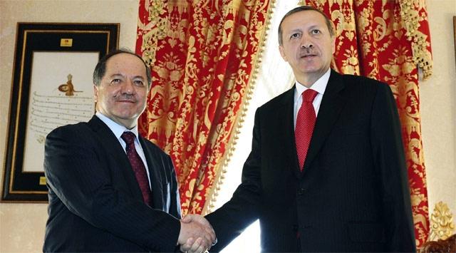 Başbakan Erdoğan, Barzaniyle Görüştü