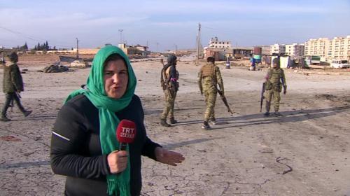 Teröristlerden temizlenen El Babı ilk kez TRT Haber görüntüledi