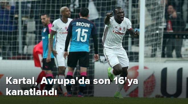 Beşiktaş - Hapoel Beer-Sheva Maç Özeti