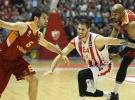 Galatasaray Odeabank, Kızılyıldız MTS'ye yenildi