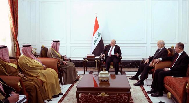 Suudi Arabistan Dışişleri Bakanı Cubeyr, Irakta