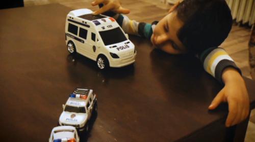 Kahraman polislerden anlamlı klip