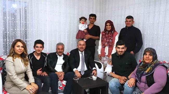 Bakan Çavuşoğlundan El-Bab gazisine ziyaret