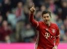 Lewandowski 'hattrick' yaptı Münih 8 farklı kazandı