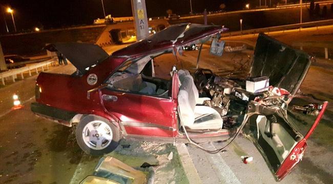 İki ilde trafik kazası: 1 ölü, 9 yaralı