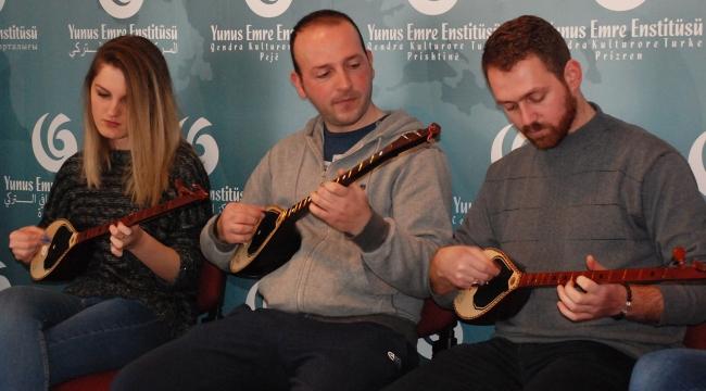 Türk ve Arnavut kültürleri müzikle kaynaşıyor