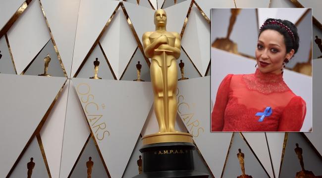"""Los Angelestaki Oscar gecesine """"mavi kurdele"""" damgası"""