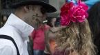 Brezilyada Zombie yürüyüşü etkinliği