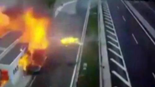 Yunanistanda feci kaza