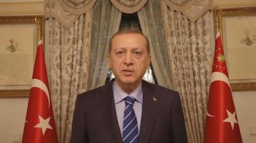 Cumhurbaşkanı Erdoğandan teşekkür mesajı