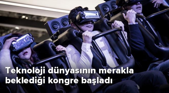 Mobil Dünya Kongresi Barcelonada başladı