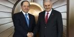 Başbakan Yıldırım IKBY Başkanı Barzani ile görüştü