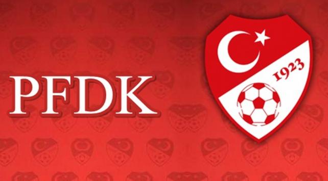 PFDKdan 5 takıma ceza