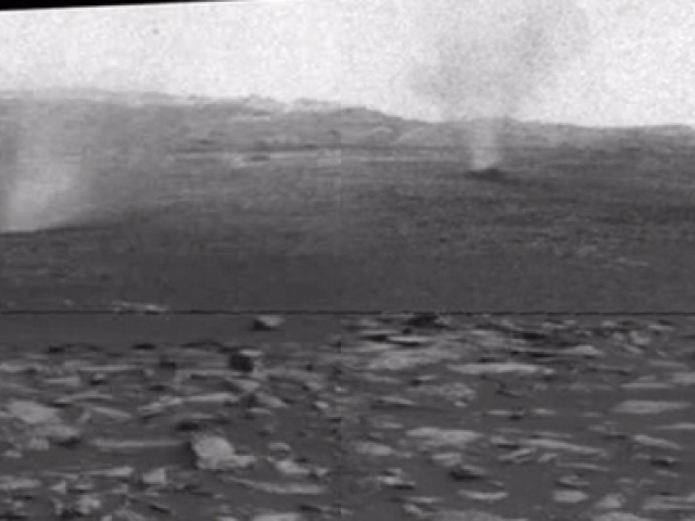 Marsta ilk defa görüntülendi