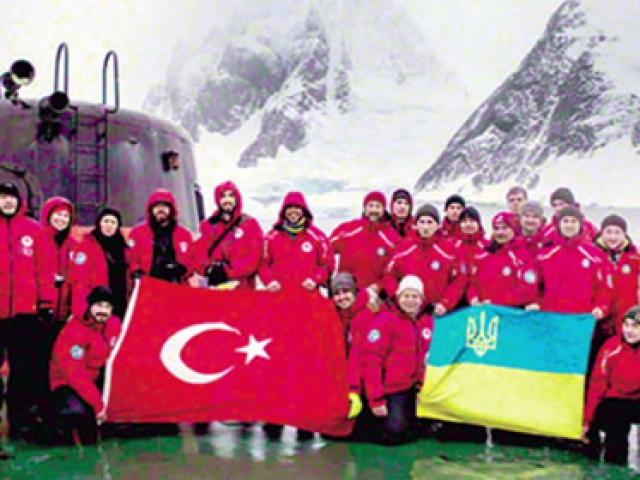 Türk bilim ekibi Antartikada