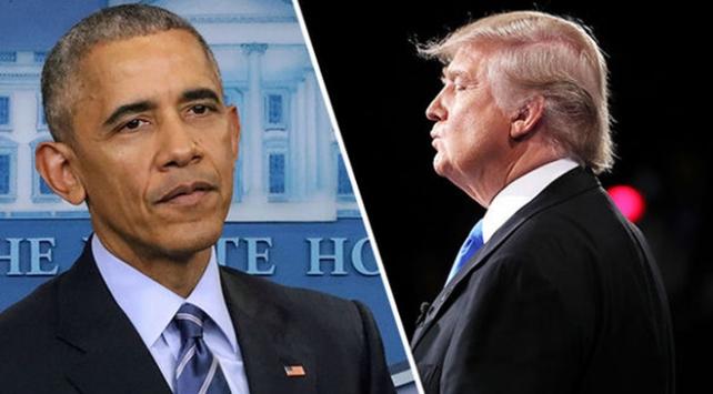 Obamadan Trumpa sert tepki