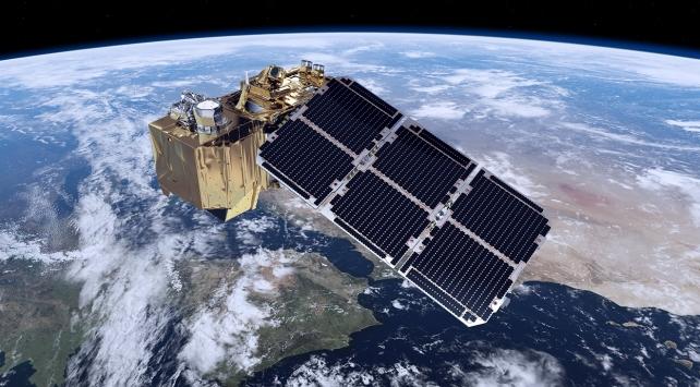 """Dünya gözlem uydusu """"Sentinel 2B"""" uzaya fırlatıldı"""