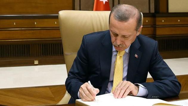 Cumhurbaşkanı Erdoğandan rektör ataması