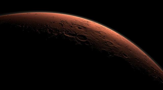 Mars atmosferinde yeşil ışık keşfedildi