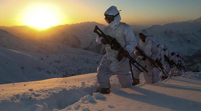 Eli kanlı terör örgütü PKKya yılın son ayında büyük darbe indirildi