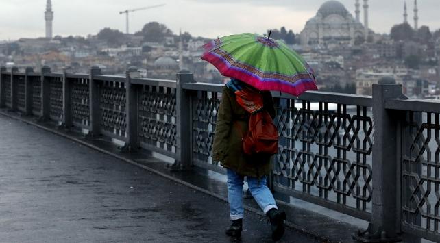 Meteorolojiden İstanbula kuvvetli yağış uyarısı
