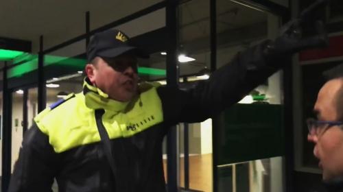 Hollanda polisinden vatandaşlarımıza sert müdahale