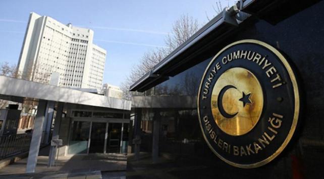 Dışişleri Bakanlığı Paristeki terör saldırısını kınadı