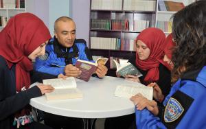 Şehit polislerin adları kütüphanelerde yaşatılacak