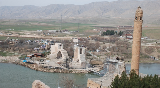 Tarihi Hasankeyfin yeni yerleşim yeri ile ilgili çalışmalar sürüyor