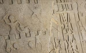Elazığda 4 bin yıllık kabartma bulundu