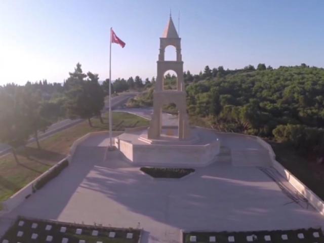 """Lise öğrencilerinden """"Çanakkale Türküsü"""" klibi"""
