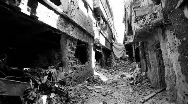 Dera Mülteci Kampının yüzde 70inden fazlası yıkılmış durumda