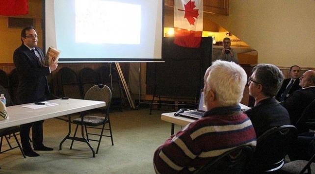 Kanadada Çanakkale şehitlerini Anma Programı düzenlendi