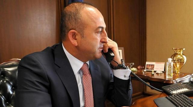 Çavuşoğlu ABDli mevkidaşıyla telefonda görüştü