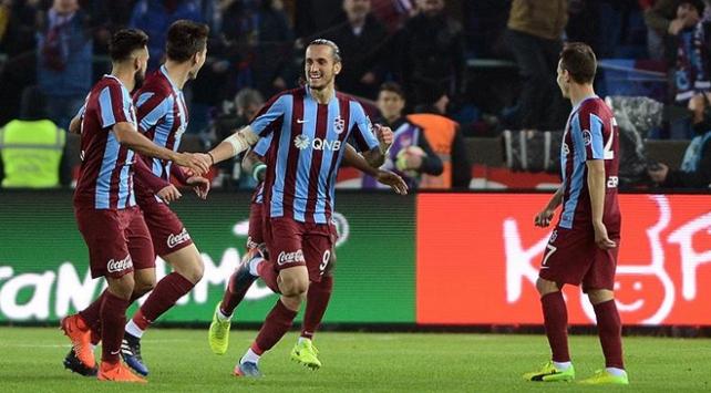 Trabzonspor 2017 yılındaki çıkışını sürdürdü