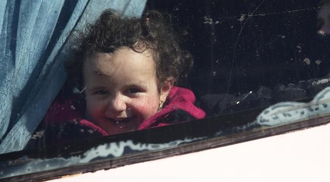 Vaerden tahliye edilen bin 354 sivil Cerablusa ulaştı