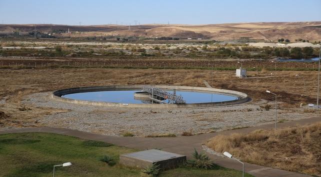 Atık su tesisinden ayda 100 bin liralık destek