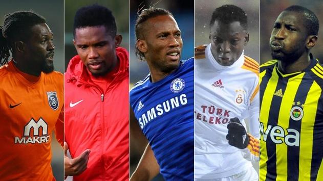 Süper Ligin Afrikalı yıldızları