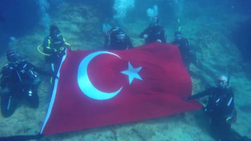 Turizmin incisi Kekova dalış sporcularının gözdesi
